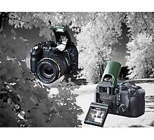 ☀ ツMY FUGIFILM Is-1 INFRARED CAMERA INSIDE,PICTURE TAKEN WITH THE INFRARED CAMERA ☀ ツ Photographic Print