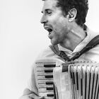The Accordion Player by Christopher Herrfurth