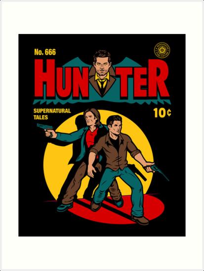 Hunter Comic by harebrained