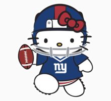 New York Giants Hello kitty by daleos
