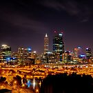 Perth from Kings Park by Erik Schlogl