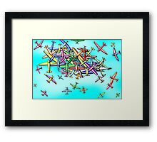 Aviation reporting point Framed Print