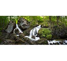 The Waterfalls at Myrafalle in Austria  Photographic Print