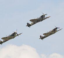 Spitfire Formation by Nigel Bangert