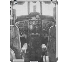 Vintage Plane Cockpit iPad Case/Skin