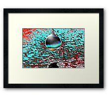 FLOAT ELECTRA Framed Print