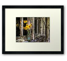 Starbucks with Susan  Framed Print