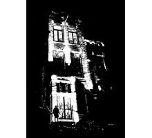 The door is open and the lights are on...  Urban TSHIRT Photographic Print