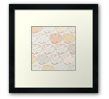 Don't Clam Up Framed Print