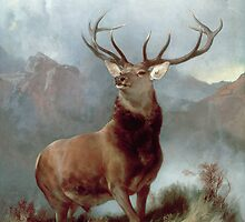 Monarch of the Glen by Bridgeman Art Library