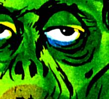 Green Ghoul Sticker