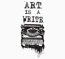 Art is a Write by Mehdals