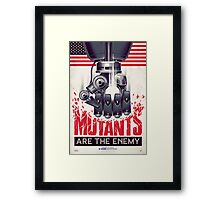 FIGHT THE MUTANTS! SUPPORT TRASK INDUSTRIES!  Framed Print