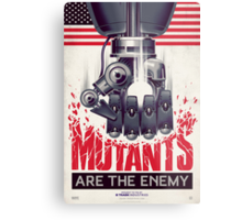 FIGHT THE MUTANTS! SUPPORT TRASK INDUSTRIES!  Metal Print