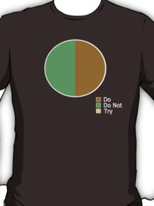Pie Chart of Jedi Wisdom T-Shirt