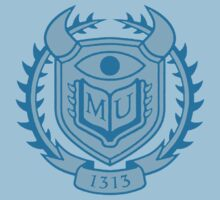 Monsters University Blue Logo by Merwok