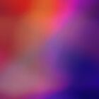 Colorful Magenta Purple & Red Abstract Glow by Christina Katson