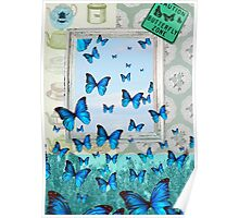 """""""Butterfly Zone"""" Poster"""