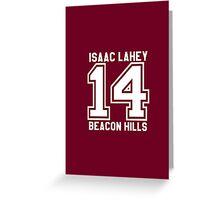 Isaac Lahey #14 Greeting Card