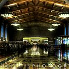 Amtrak - Union Station in Los Angeles, California by Moshe Levis