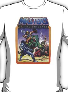 He-Man Masters of the Universe Battle Scene with Skeletor T-Shirt