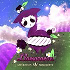 LLAMACARON ♥ blackberry flavour! by mimolette