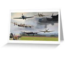 Spirit of Bomber Command Greeting Card