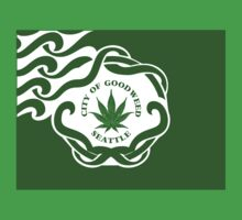 Seattle Marijuana Flag by GUS3141592