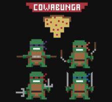 TMNT 8-bit by The World Of Pootermobile