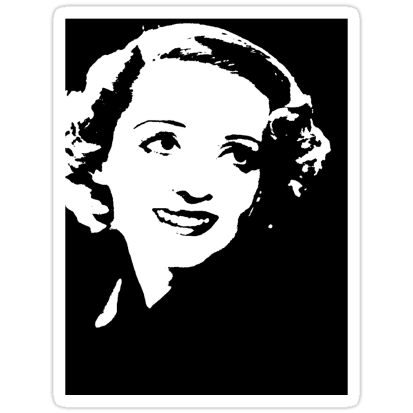 Bette Davis Smiles by Museenglish