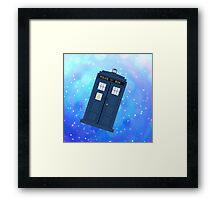 Phone Box Framed Print