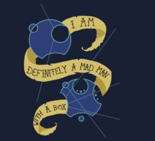 Mad Man With A Box Gallifreyan by SymmetryIsArt