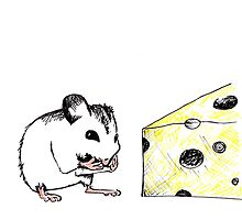 Big Cheese Little Mouse by drknice