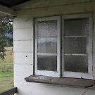 The Old Cottage Windows by aussiebushstick
