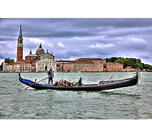 ..clouds over Venice.....[FEATURED] Photographic Print