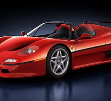 Ferrari F50 - Phantasm by Marc Orphanos