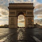 Arc de Triomphe by SilverEye-RB