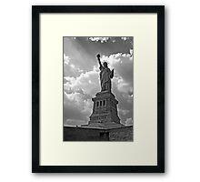 Light of Liberty Framed Print