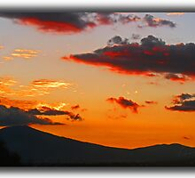 ©HCS Goldie  And Fire Clouds by OmarHernandez