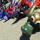 Dragon Boat Heads by VixenFirepaw