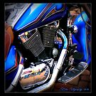 BLUE Motorcycle Shot 2010 by patjila