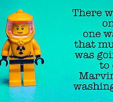 Mum and Marvin's dirty washing! by Tim Constable