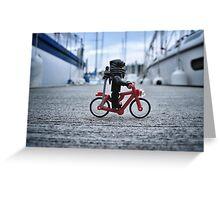 Training: bicycle Greeting Card