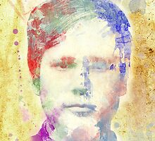 Tom DeLonge Watercolour by Greg Clark