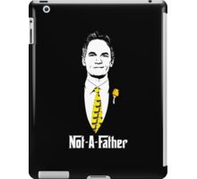 Not-A-Father (Ducky Tie Variant) iPad Case/Skin