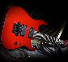 Ibanez MTM1 Mick Thompson Slipknot Guitar by HoskingInd