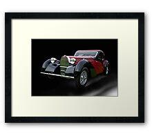 1937 Bugatti Type 57 SC Atalante Coupe V Framed Print