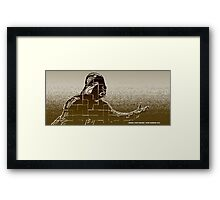 """Search your feelings"" Framed Print"