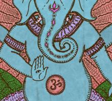 peace ganesh parchment Sticker