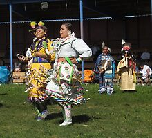 Jingle Dress dancers by Alex Call